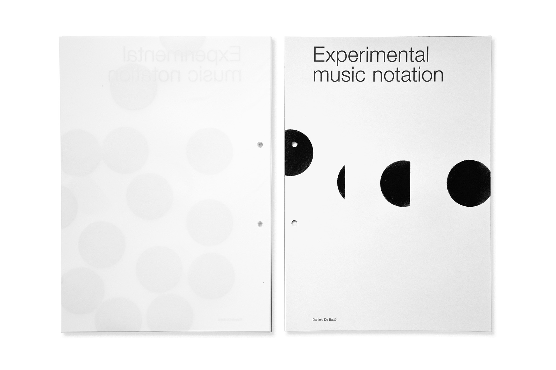 DDB Experimental music notation 27.6.2016